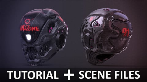 Creating a Clean Futuristic Helmet with ZBrush