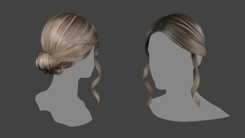 realtime hairstyle