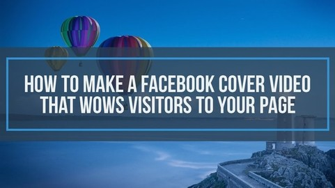 Animated Facebook Video Cover in HD