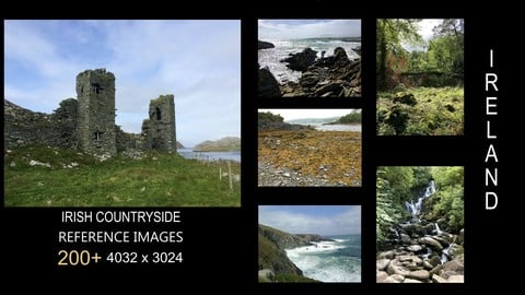 250+ Reference Images: Irish Countryside