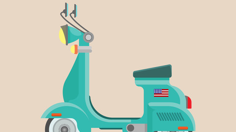 Vespa scooter U.S.A.