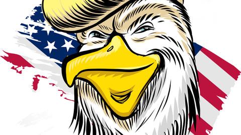 Donald eagle Trump