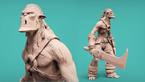 Undead Orc - ZBrush Character Tutorial