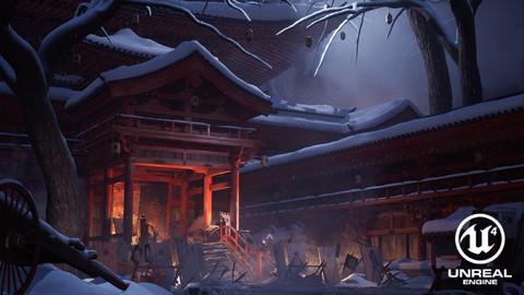 Hosokawa War - Artstation Feudal Japan Challenge