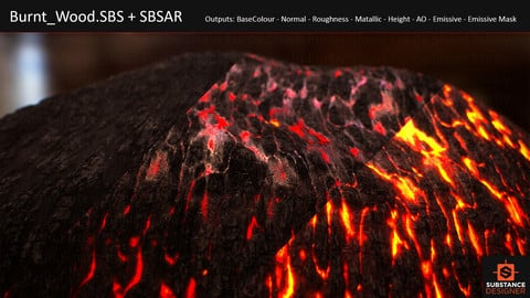 [Substance] Burnt wood