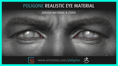 Poligone Realistic Eye Material
