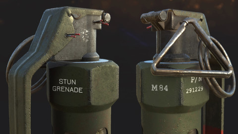 M84 |Stun Grenade For AAA Game