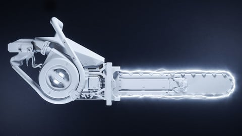 Electric Saw - Hard Surface Modeling with Maya