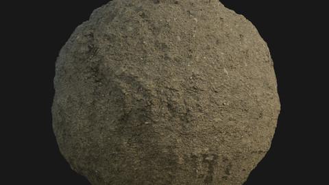 PBR Scanned Dry Soil