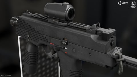 B&T MP9 + Aimpoint Red Dot