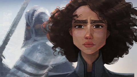 Missandei_GoT_Fan art_Printable files JPG and PNG