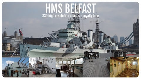Photo Reference Pack - HMS Belfast