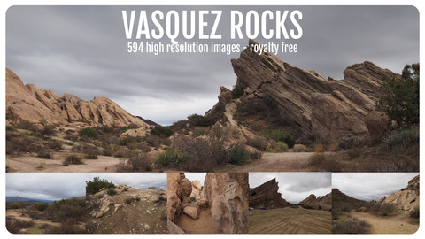 Photo Reference Pack - Vasquez Rocks