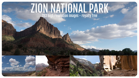 Photo Reference Pack - Zion National Park