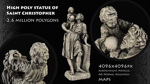 Saint Christopher Statue