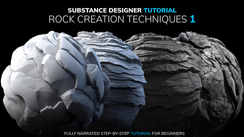 Substance Designer Rock Creation Techniques 1