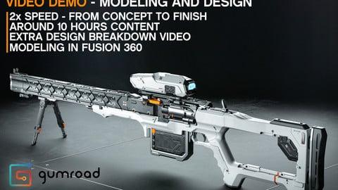 Sniper Design Demo in Fusion 360
