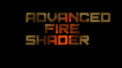 Advanced Fire Shader