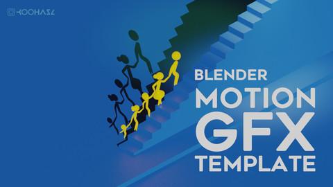 Motion Graphics Template (BLENDER 2.80)