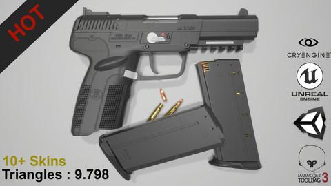 FN Five Seven (Game Ready - Gun)
