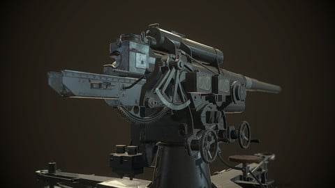 German Flak Gun 88mm