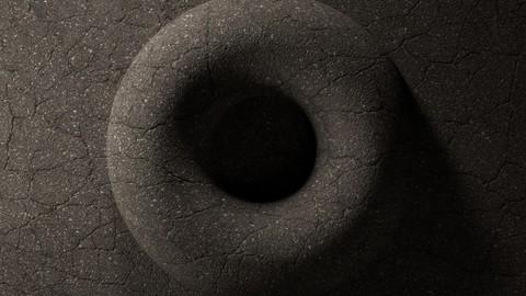 Asphalt Cracked 02 - 8K Textures