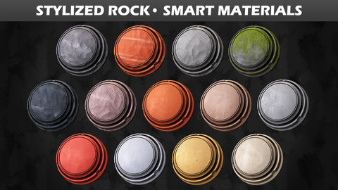 Stylized Rock • Smart Materials