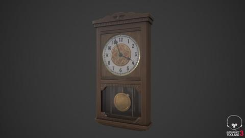 AntiqueWallClock