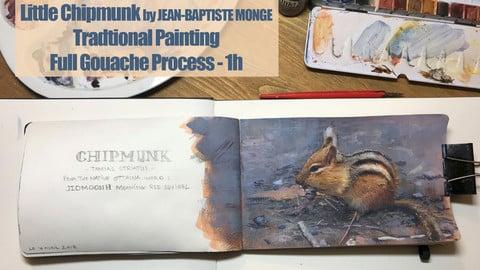 Little Chipmunk by Jean-Baptiste MONGE