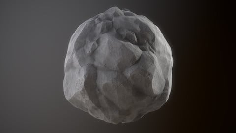 Texture Stylized Rock