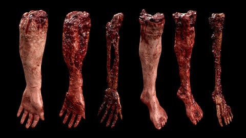 Gore & Horror Props Megapack