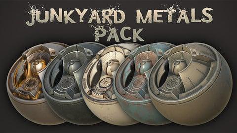 Junkyard Metals - Substance Painter Smart Materials