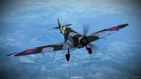 SUPERMARINE SPITFIRE MK VB 130th Squadron