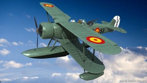 IMAM RO43 Spanish Air Force