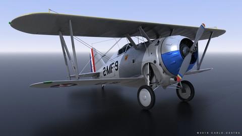 GRUMMAN F2F-1 US Marines 1939