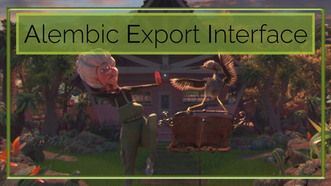 Alembic Export Interface - Autodesk Maya