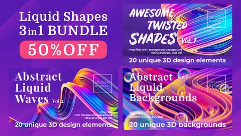 Liquid Shapes BUNDLE