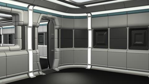 Retro-themed Laboratory Room Components
