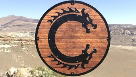 Viking Serpent Shield