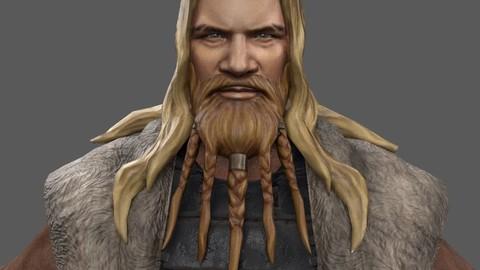 Erik - Viking - Lowpoly Stylized