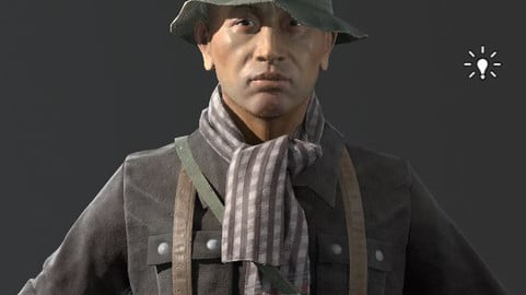 VietnamWar male soldier