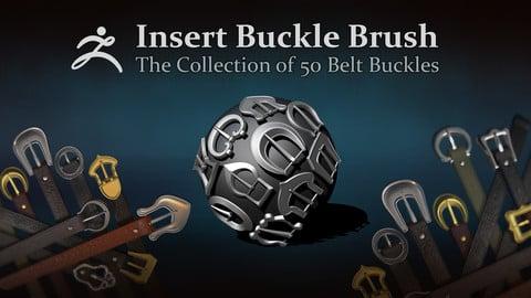 ZBrush — 50 Belt Buckles