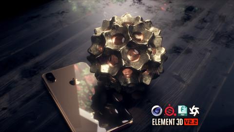 Decorative Sphere 3D Model