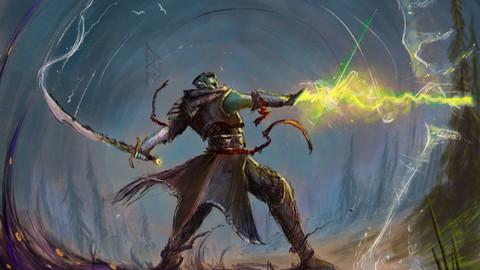 Fjord - Eldritch Blast! - Critical Role (digital print)