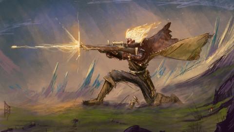 Crackshot - Dungeons and Dragons - (Digital print)