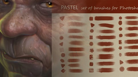A set of brushes for photoshop