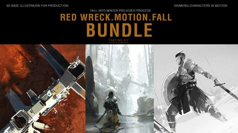 BUNDLE: Characters in Motion/Red Wreck/BONUS: Fall into Winter