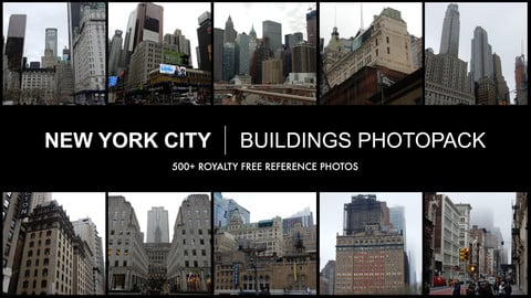 New York City Buildings Photopack