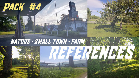 Nature - Farm - Small Town - (pack #4 of 4)