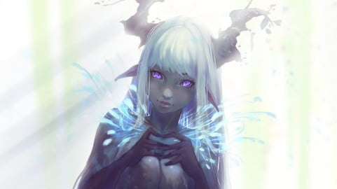 AEYRIA illustrations and process (NSFW)